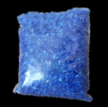 Скляна Крихта синя фракції 2-3 мм - 150 грам