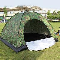 Палатка 2 3 х местная 2х1.5 камуфляж зеленая для рыбалки, кемпинга