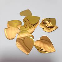 Конфетті -сердечка 25 мм. (25 р.)