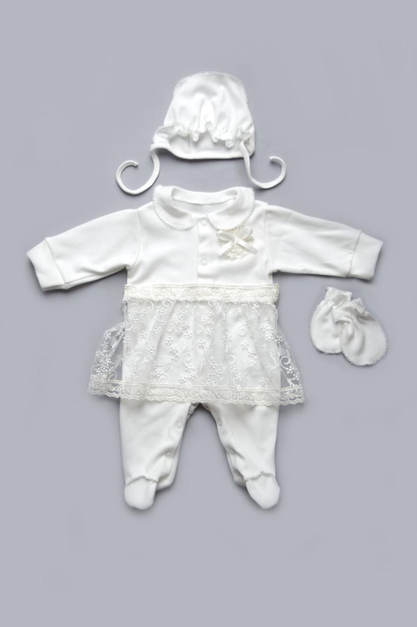 Святковий комплект для новонародженої дівчинки