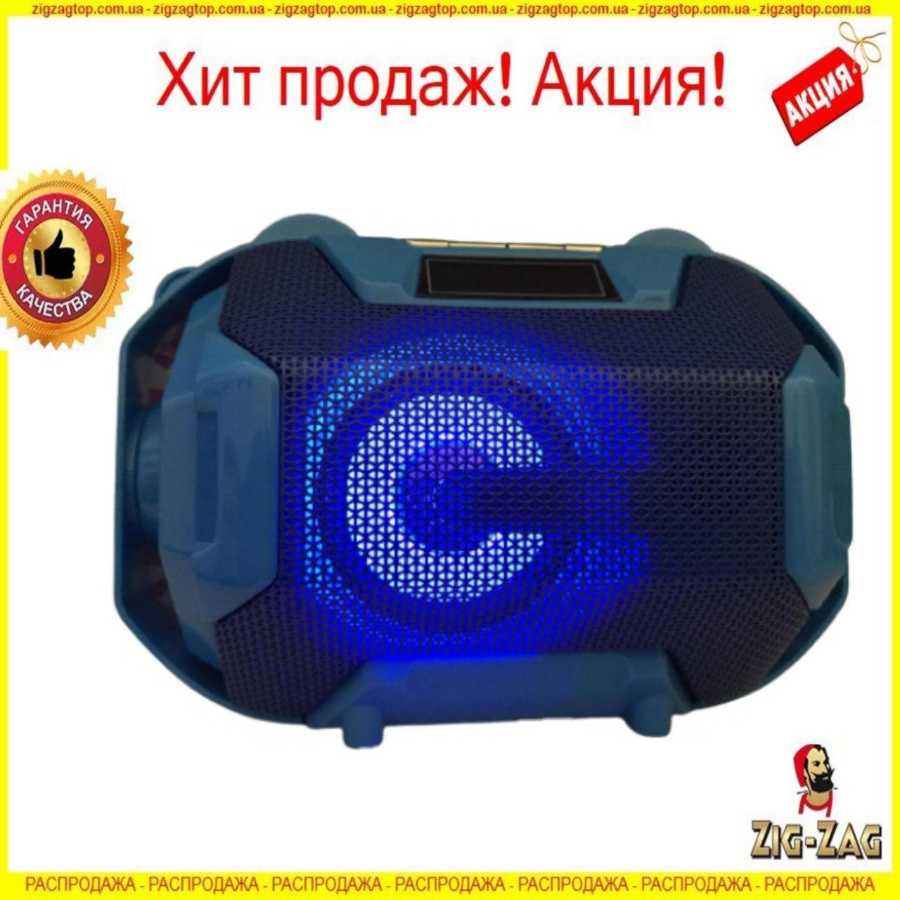 Портативна колонка Bluetooth GOLON RX S300BTD з ЛІХТАРИКОМ Блютуз Акумуляторна Голон Акустика FM Радіо ФМ