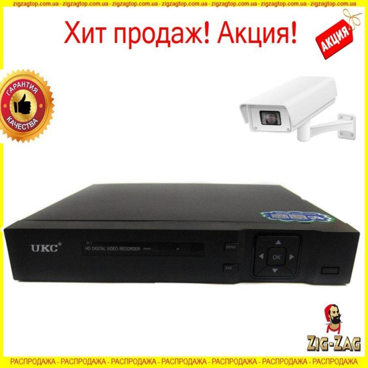 Система Видеонаблюдения FULL HD CAD 1204 DVR UKC Регистратор для Камер на 4 Камеры канальный