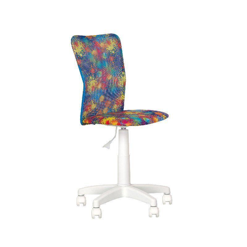 Кресло JUNIOR (ДЖУНИОР) GTS WHITE PL55 Новый Стиль детские офисные кресла
