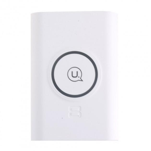 Бездротове зарядний пристрій+Power Bank Usams US-CD31 White