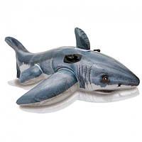 Надувной плот Intex 57525 Акула  173*107см