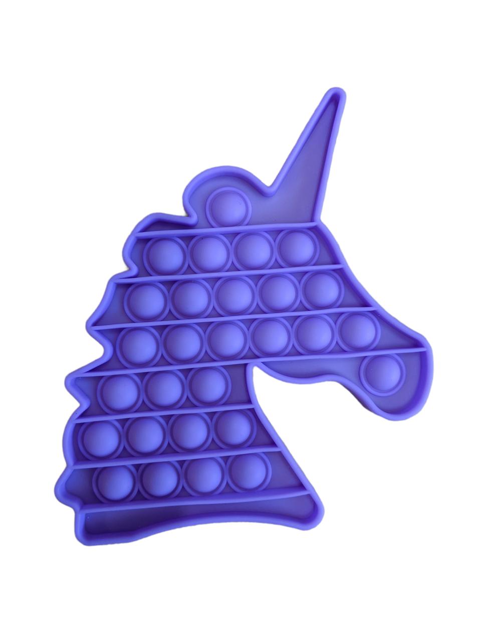 Pop It сенсорная игрушка, пупырка, поп ит антистресс, pop it fidget, попит, фиолетовый единорог