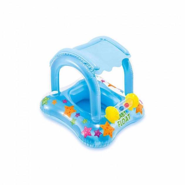 Дитячий надувний круг-плотик Intex 56581 Kiddie Float (81х66 см)