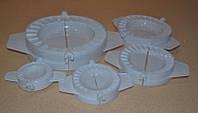 Набор ручных пресс-форм для пельменей, вареников, чебуреков и пирожков Form dough, фото 1