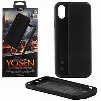 Чохол-акумулятор Proda Yosen Case iPhone X/XS PD-BJ01 3400mAh Black