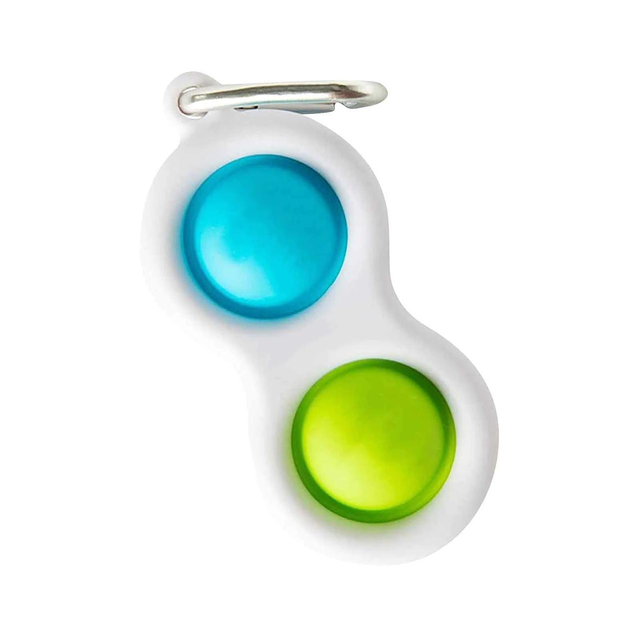 Сенсорная игрушка Simple Dimple поп ит антистресс симпл димпл pop it горошек разноцветный 1