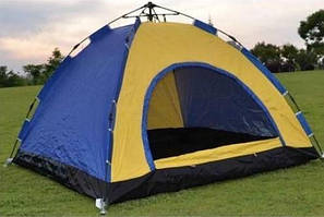 Палатка туристична двоколірна Stenson (R17766)