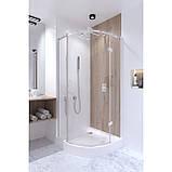 Набір Qtap душова кабіна Virgo CRM1099AC8 Clear 90х90 + піддон Uniarc 309915 з сифоном, фото 10