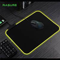 Игровая поверхность Rasure Flashy RGB Gaming Mouse Pad c подсветкой