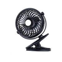Вентилятор настольный портативный Portable Mini Fan черный