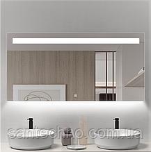 Зеркало с подсветкой для ванны DUSEL LED DE-M3021 100смх75см (сенсорное включение+подогрев)