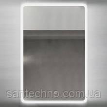 Зеркало с подсветкой DUSEL LED DE-M3011 65смх80см (сенсорное включение+подогрев)