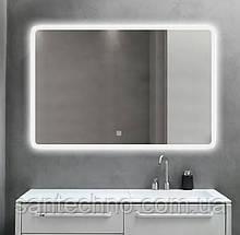 Зеркало с подсветкой DUSEL LED DE-M3011 120смх75см сенсорное включение+подогрев