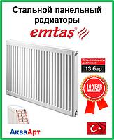 Стальной радиатор  Emtas 22k 500*500 б.п.