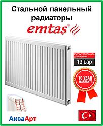 Стальной радиатор  Emtas 22k 500*400 б.п.