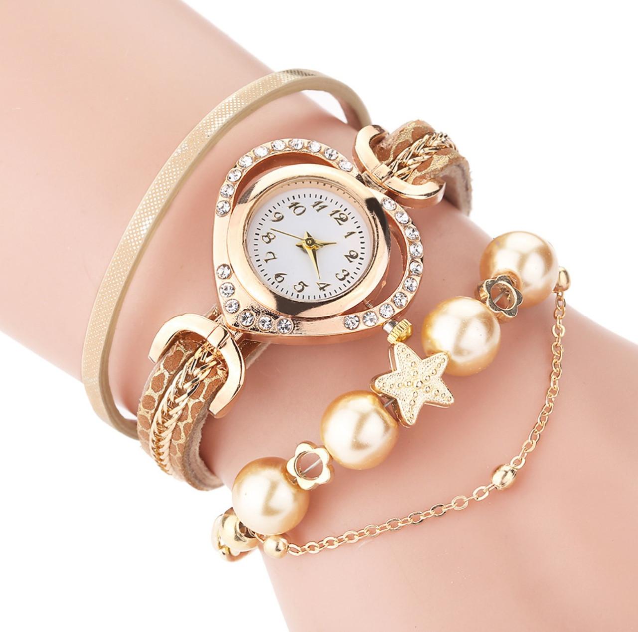 Часы браслет Carude три цвета