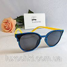 Дитячі поляризовані силіконові окуляри для дівчаток до 7-ми років неломайки
