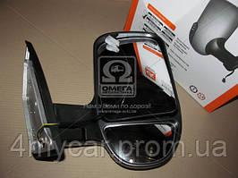Зеркало боковое ГАЗ 3302 нового образца с поворот. прав. черное, матовое  (производство Дорожная карта ), код запчасти: 46.8201022-40