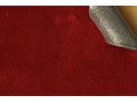 Замша темно красная алькантара на поролоне 1,44 м