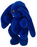 Кролик 30 см Аліна синій, фото 2