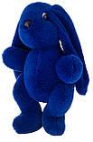 Кролик 30 см Аліна синій, фото 3