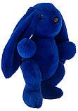 Кролик 30 см Аліна синій, фото 4