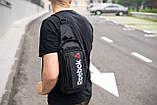 Сумка на груди слінг Reebok Longer маленький рюкзак на одне плече, фото 8