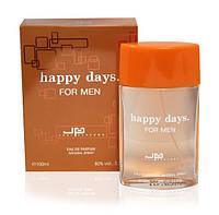 Туалетная вода для мужчин  HAPPY DAYS