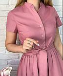 "Довге коттоновое сукню на гудзиках ""Lesley""| Батал, фото 6"