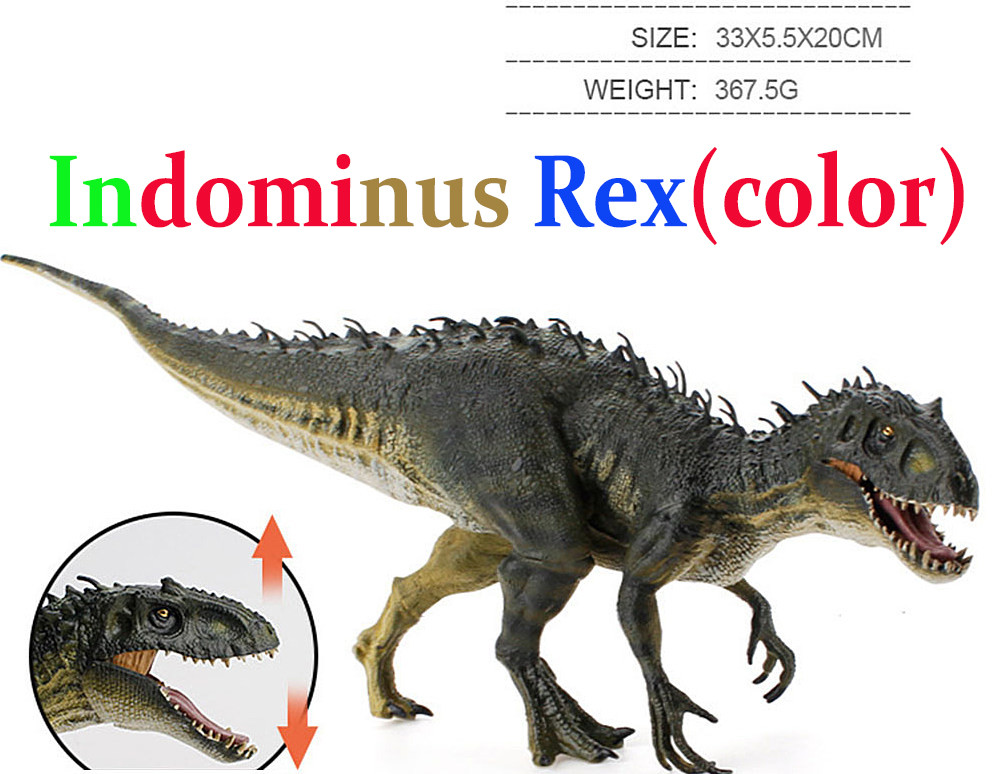 Индоминус Рекс (Jurassic World 1) цветной
