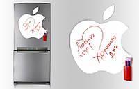Магнітна дошка для маркера Apple 40*43см. 100069 Найкраща якість