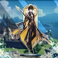 Фігурка акрилова Чжун стихія Геншин Імпакт - Genshin Impact (13046)