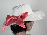 Солом'яний капелюх Инегал 40 см біла 113090 Найкраща якість