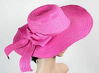 Солом'яний капелюх Рестлин 42 см рожева 113121 Найкраща якість