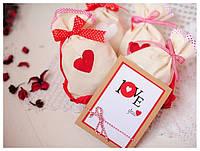 Подарунковий набір мішечки бувають з коханням 107880 Найкраща якість, фото 1