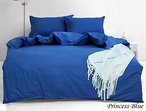 ТМ TAG Комплект постільної білизни євро Princess Blue