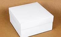 Подарункова коробка White 20х20х10 см 122699 Найкраща якість