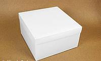 Подарункова коробка White 28х28х15 см 122981 Найкраща якість