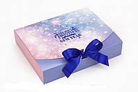 Подарункова коробка Різдво 25х20х5 см 124178 Найкраща якість