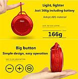 Колонка MIFA F10 Водонепроникна червона Bluetooth, фото 6