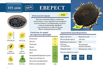 ЕВЕРЕСТ - высоколеиновый гібрид подсолненика (під євро-лайтнінг)