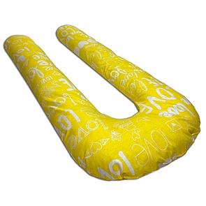 Подушка для вагітних Mr.Bean ЗІ ЗНІМНИМ ЧОХЛОМ