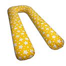Подушка для вагітних Mr.Bean ЗІ ЗНІМНИМ ЧОХЛОМ, фото 5