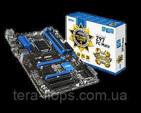Материнська плата Msi Z97 PC Mate LGA 1150 (MSI-Z97-PC-MATE) Б/У