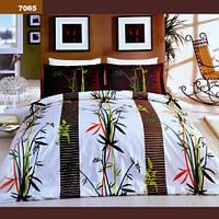 Двуспальный комплект постельного белья Viluta ткань Ранфорс 100% хлопок арт. 7065