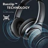 Гибридные наушники Anker Soundcore Life Q20 с активным шумоподавлением беспроводные накладные Bluetooth, фото 2